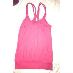 Simple pink shirt
